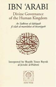 Cover of: Divine Governance of the Human Kingdom