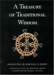 Cover of: A treasury of traditional wisdom