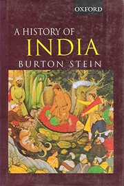 Cover of: A history of India | Burton Stein