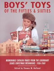 Cover of: Boys' toys of the fifties and sixties