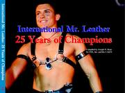 Cover of: International Mr. Leather