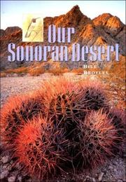 Cover of: Our Sonoran Desert