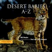 Cover of: Desert Babies A-Z (Look West Series)