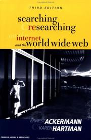 Cover of: Searching and researching on the Internet and the World Wide Web