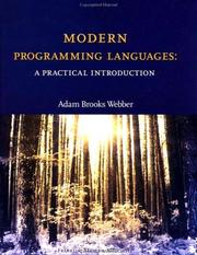 Cover of: Modern Programming Languages | Adam Brooks Webber