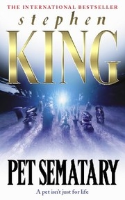 Cover of: Pet sematary | Stephen King