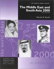 Cover of: The Middle East and South Asia 2000 (Middle East and South Asia, 2000)