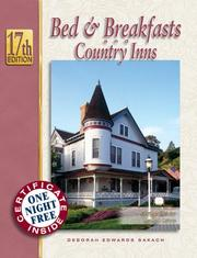 Cover of: Bed & Breakfasts and Country Inns, 17th Edition