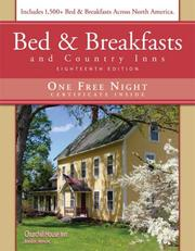 Cover of: Bed & Breakfasts and Country Inns, 18th Edition