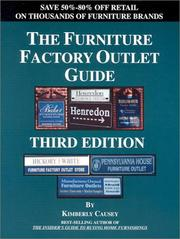 Cover of: The Furniture Factory Outlet Guide