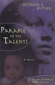 Cover of: Parable of the talents: a novel