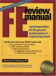 Cover of: FE Review Manual