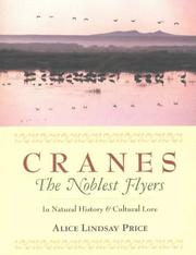 Cover of: Cranes | Price, Alice L.