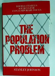 Cover of: The population problem by Johnson, Stanley