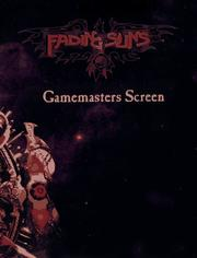 Cover of: Fading Suns Gamemasters Screen and Weapons Compendium (Fading Suns)