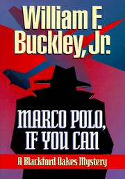 Cover of: Marco Polo, if you can