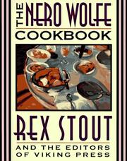 Cover of: The Nero Wolfe cookbook