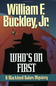 Cover of: Who's on first: a Blackford Oakes mystery