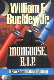 Cover of: Mongoose, R.I.P: a Blackford Oakes novel