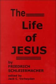Cover of: The Life of Jesus