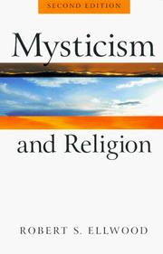 Cover of: Mysticism and religion