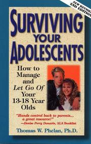 Cover of: Surviving Your Adolescents