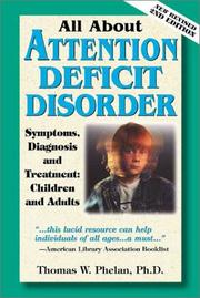 Cover of: All About Attention Deficit Disorder: Symptoms, Diagnosis & Treatment