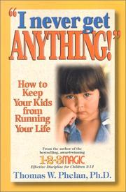 "Cover of: ""I Never Get Anything!"""
