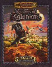 Cover of: Geanavue: The Stones of Peace