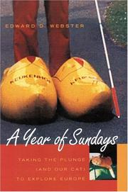 Cover of: A year of Sundays | Edward D. Webster