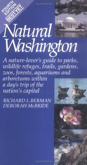 Cover of: Natural Washington