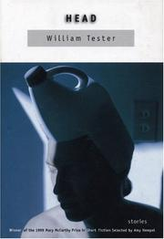 Cover of: Head | William Tester
