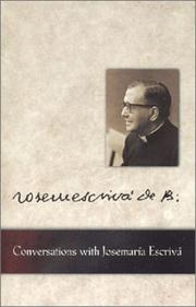 Cover of: Conversations with Josemaría Escrivá