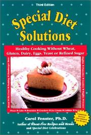 Cover of: Special diet solutions | Carol Lee Fenster
