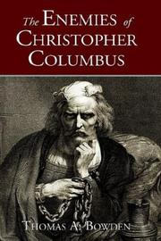 Cover of: The enemies of Christopher Columbus