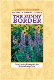 Cover of: The sunny border