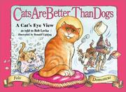 Cover of: Cats are better than dogs | Jean Little