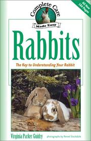 Cover of: Rabbits | Virginia Parker Guidry