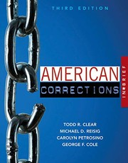 Cover of: American Corrections in Brief