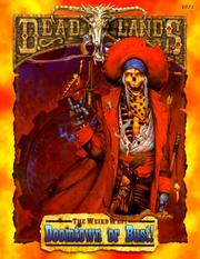 Cover of: Doomtown or Bust (Deadlands: The Weird West) | Rob Vaux