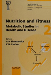 Cover of: Nutrition and fitness | International Conference on Nutrition and Fitness (4th 2000 Athens, Greece)
