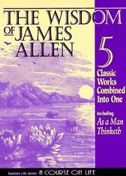 Cover of: The Wisdom of James Allen