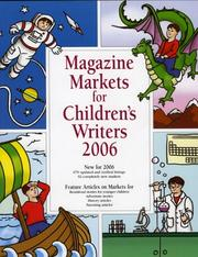 Cover of: Magazine Markets for Children