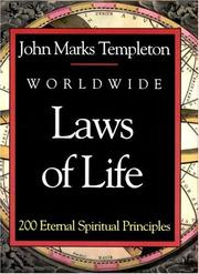 Cover of: Worldwide Laws of Life | John Marks Templeton