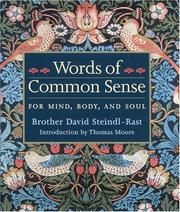 Cover of: Words of Common Sense for Mind, Body, and Soul