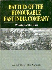 Cover of: Battle of the Honorable East India Company | M.S. Naravane