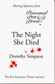 Cover of: The Night She Died