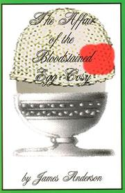 Cover of: The affair of the bloodstained egg cosy