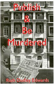 Cover of: Publish and be murdered