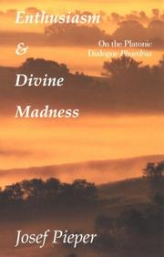 Cover of: Enthusiasm and divine madness